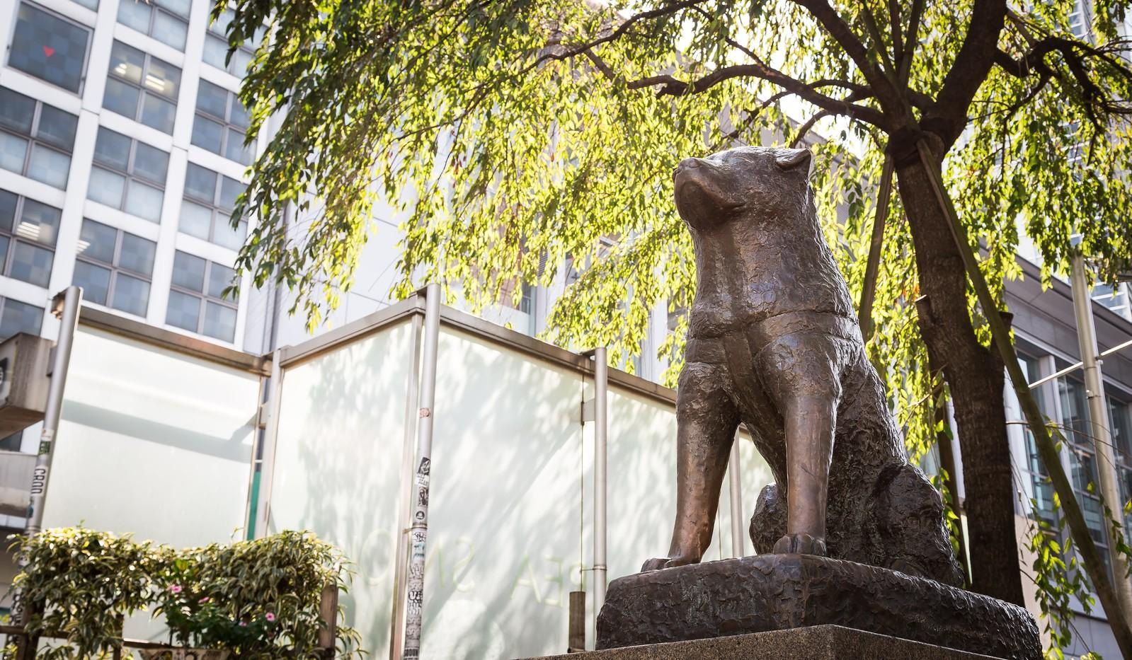 渋谷ハチ公像