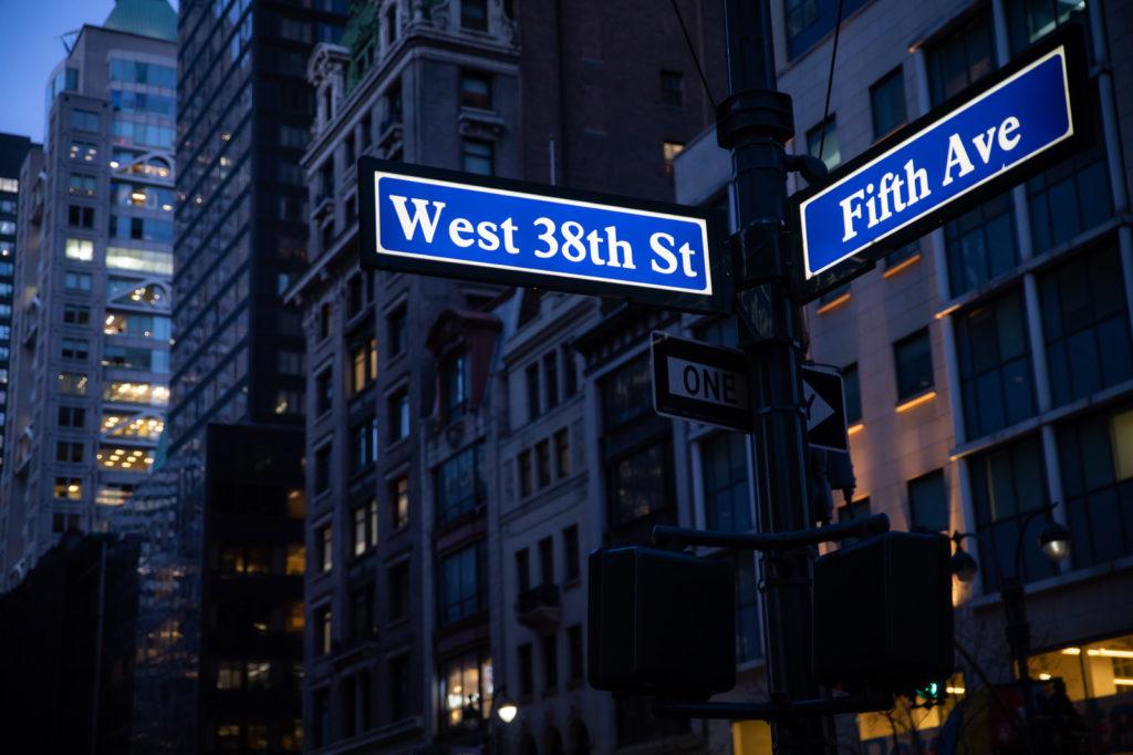 ニューヨークのストリート