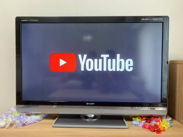 クロームキャストでテレビでYouTube画面に切り替わった時