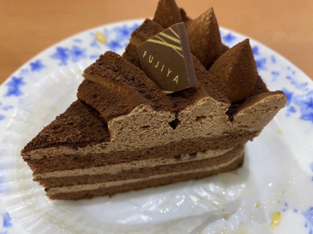 不二家の生チョコケーキ