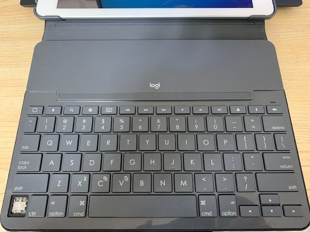 ipad用ロジクールキーボード