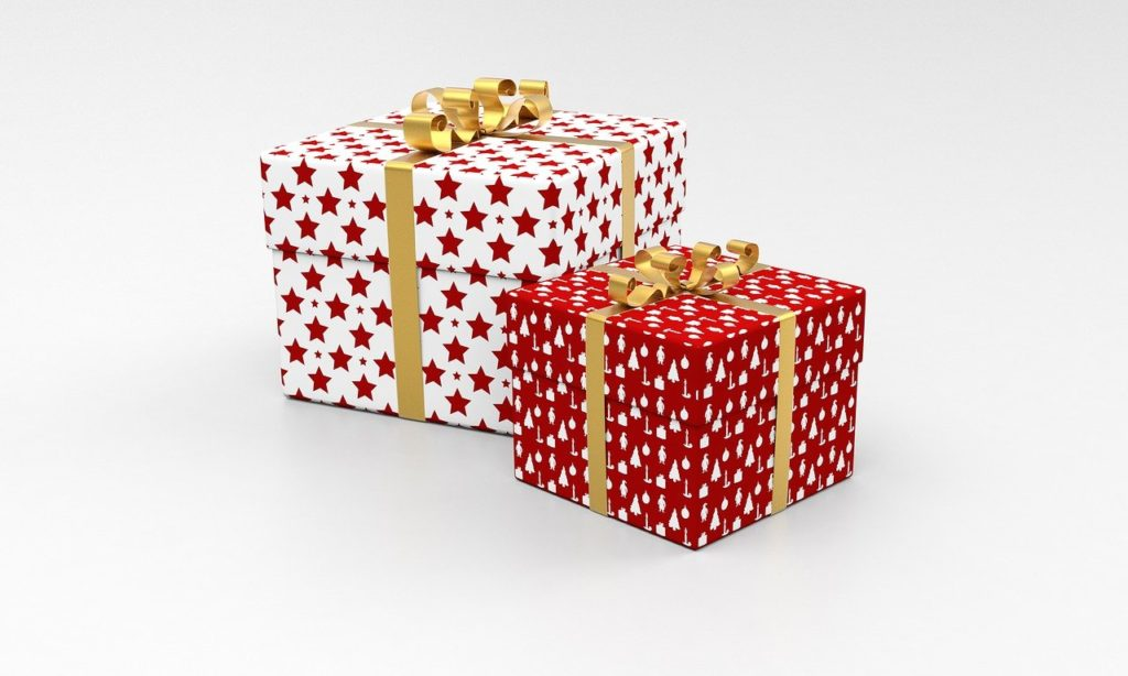 箱に入ったプレゼント