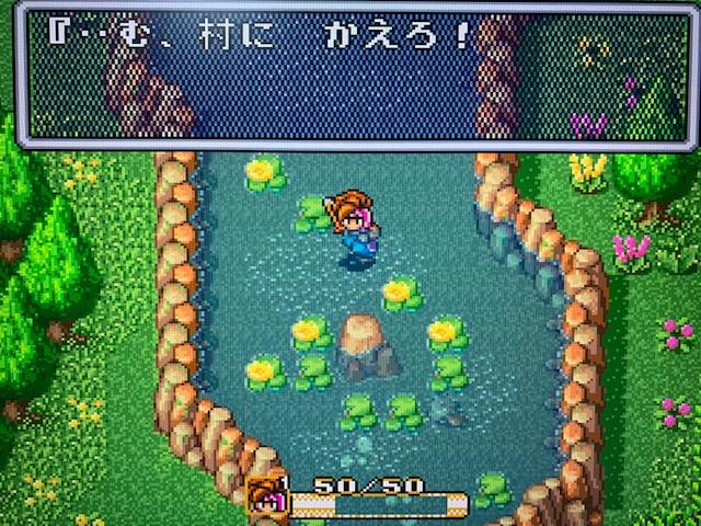 聖剣伝説2プレイ(スーパーファミコンクラシックミニ)