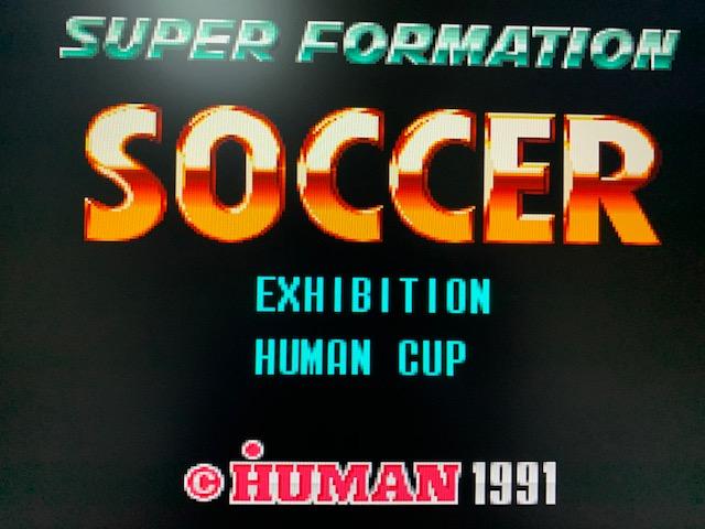 スーパーフォーメーションサッカー(スーパーファミコンクラシックミニ)