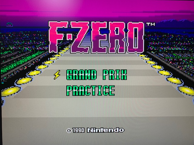 F-ZERO(スーパーファミコンクラシックミニ)