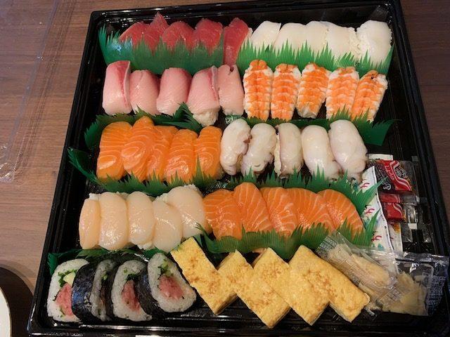 コストコ寿司48貫