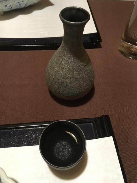 銀座日月火で日本酒