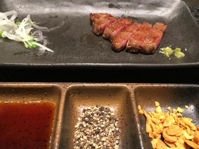 銀座のステーキ和牛食べ放題