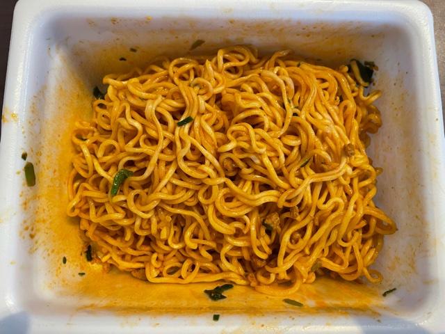 ペヤング獄激辛坦々麺