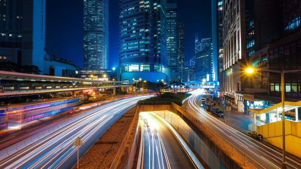 都会のハイウェイ